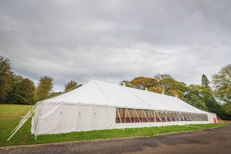Marquee at Springkell