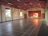 Main Hall Stage, Sprung Dance Floor & Badminton Court