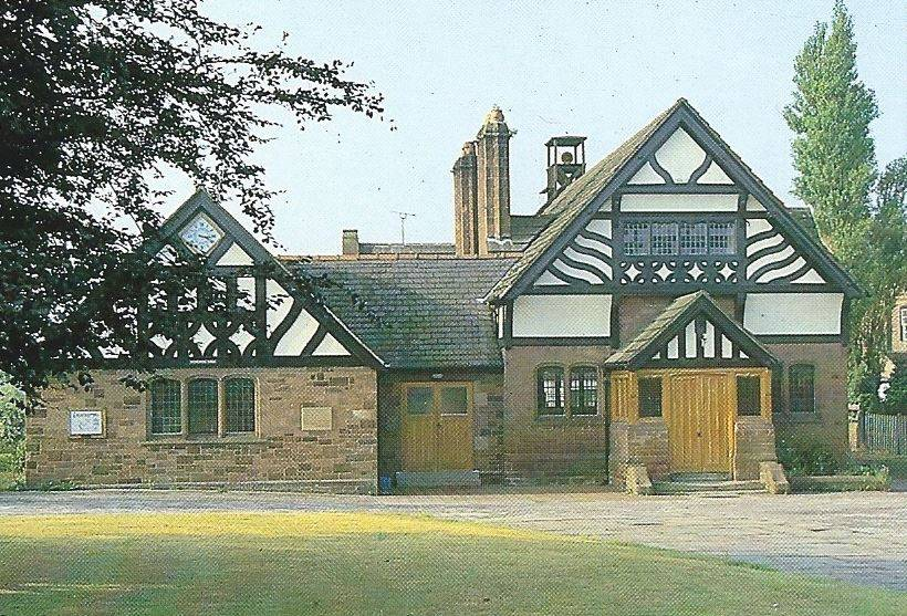 Willaston Memorial Hall Situated On The Wirral Willaston In Wirral Cheshire