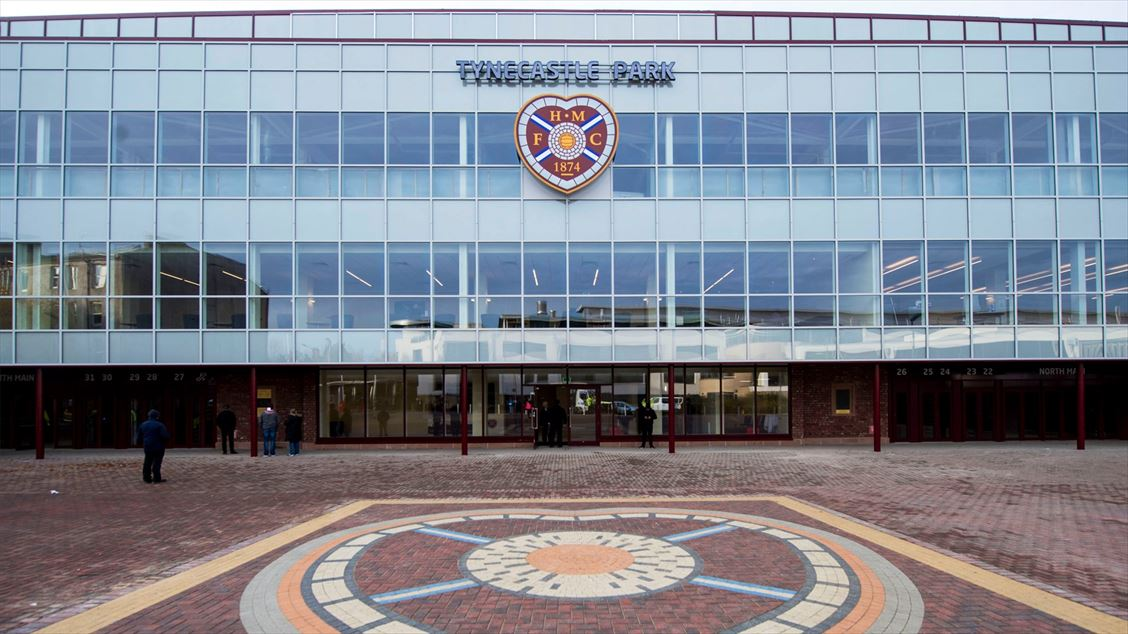 Main Stand, Heart of Midlothian Football Club