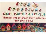 Kidz Kreationz Craft Parties