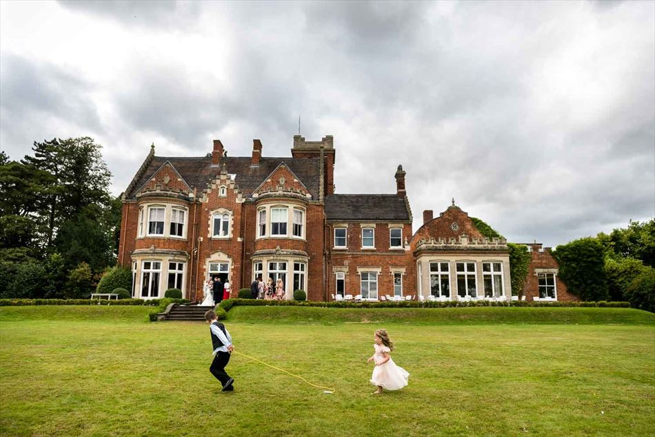 Pendrell Hall Exclusive Country House Wedding Venue With