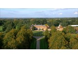 Braxted Park Estate - aerial view