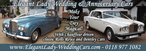 Elegant Lady Wedding & Anniversary Cars